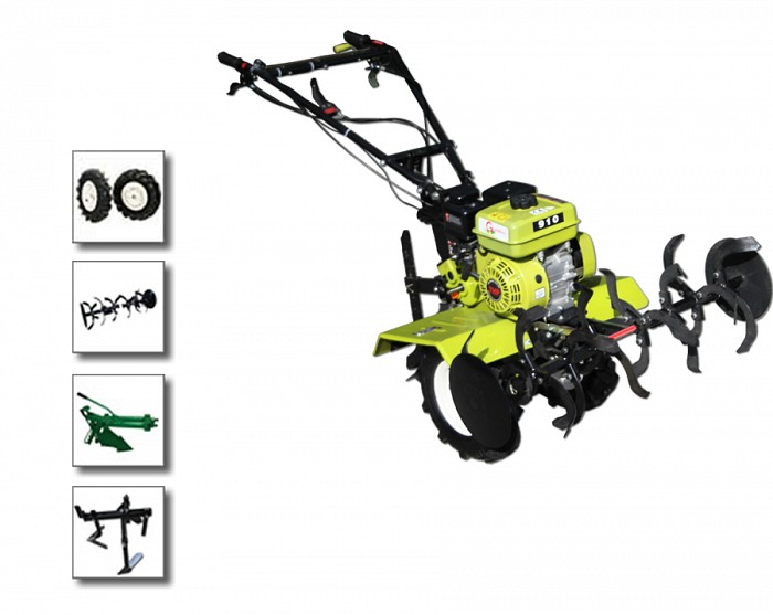 Motocultor/Motosapa Gardelina Ly 91 plug si prasitoare