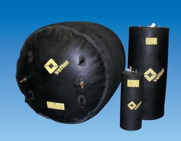 Obturatoare pneumatice cilindrice de etansare RDK
