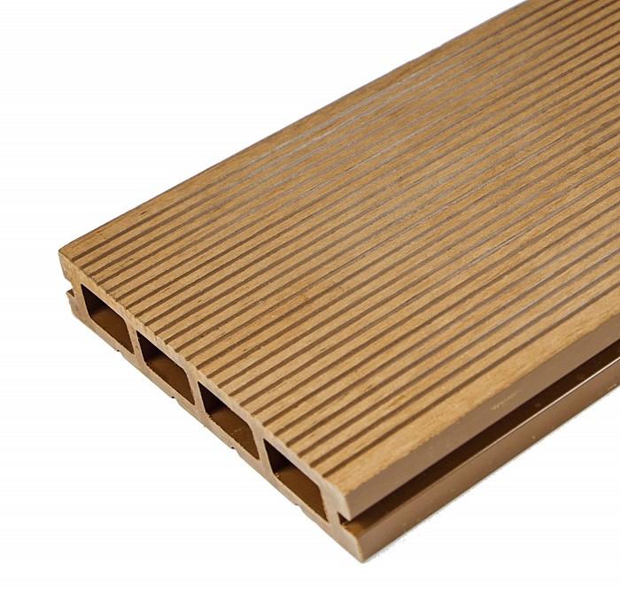 Pardoseala exterior compozit (deck WPC) culoare teak