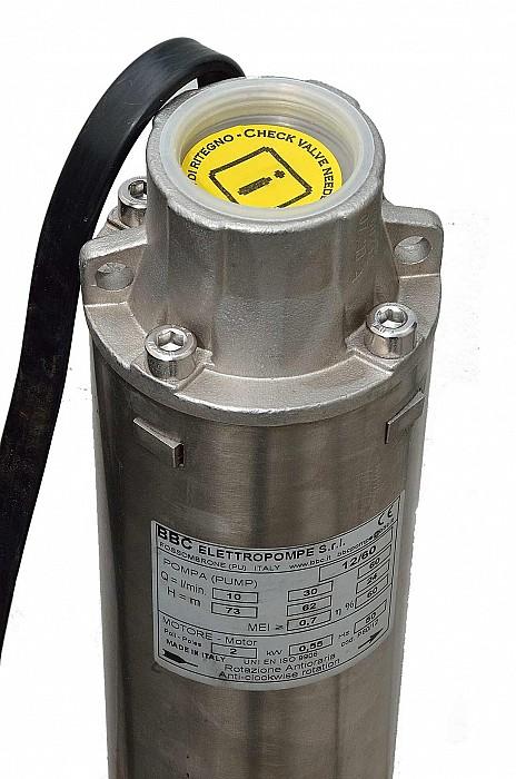 Pompe submersibile 4 BBC Italia Hmax=233 mCA