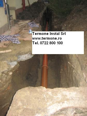 Instalatii de canalizare exterioara