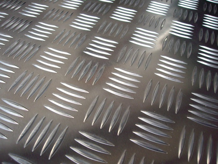 Tabla striata aluminiu quintett 5X1000X2000 MM