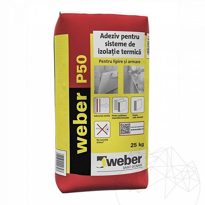Adeziv flexibil pentru sisteme de izolatie termica - Weber P