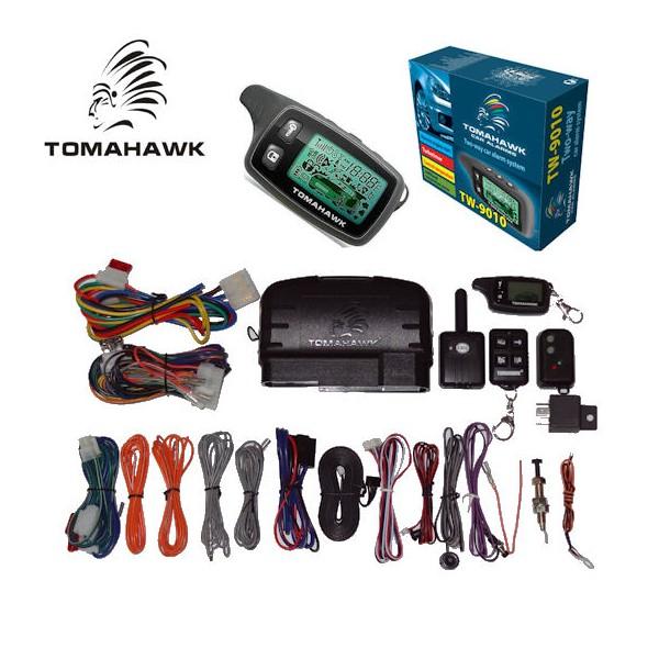 Alarma auto cu pager si pornire motor Tomahawk TW-9010