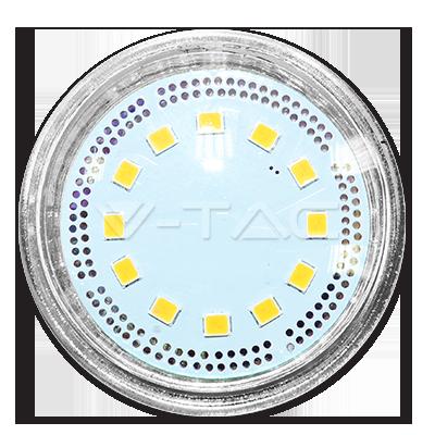 Bec spot LED – 3W MR16 12V Sticla Alb cald