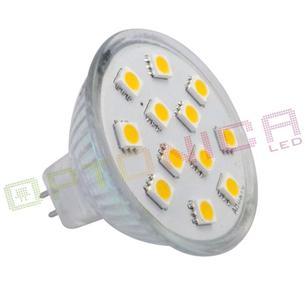 Bec Spot LED MR11 DC12V 3W lumina calda