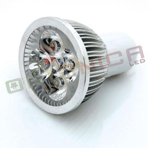 Bec Spot LED MR16 4*1W 220V lumina calda