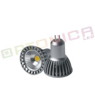 Bec Spot LED MR16 4W/12V COB lumina naturala