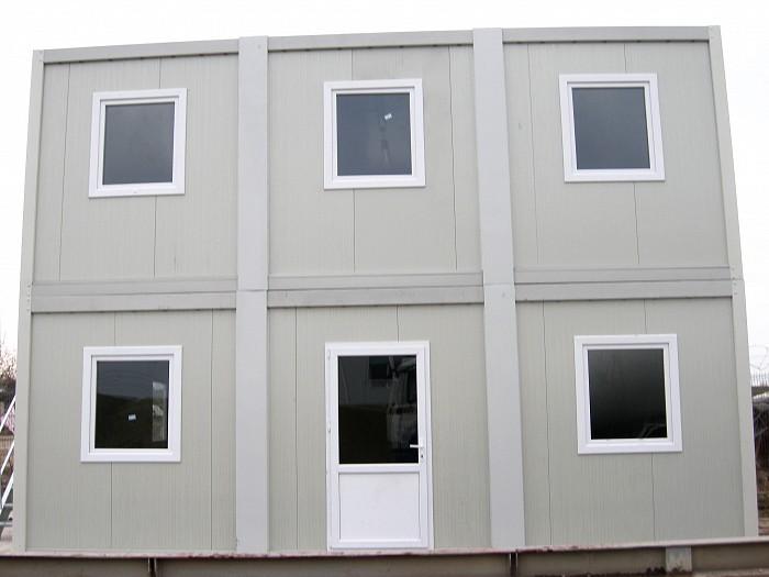 Containere organizare santier - Containere etajate