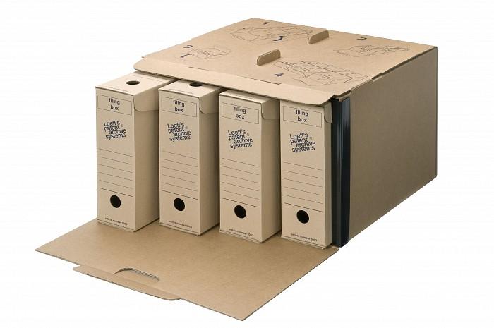 "Cutie arhivare bibliorafturi ""Direct Container"""