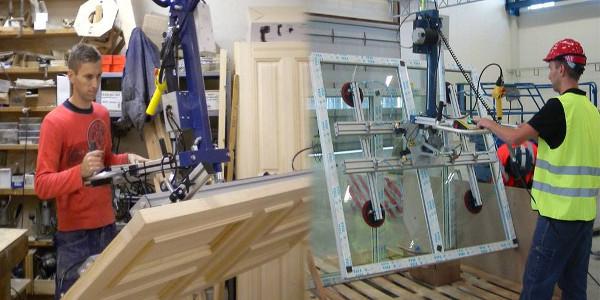 Dispozitiv de ridicat cu vacuum pentru manipularea sticlei