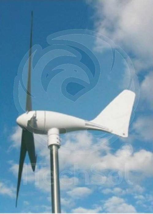 Generator eolian (turbina) X-600W 12V sau 24V (hibrid) cu re