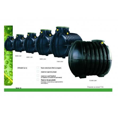 Rezervoare stocare apa,2000L