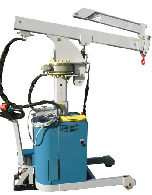 Macara electro-hidraulica 1,2 tone