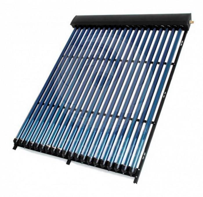Panou (colector) solar termic cu 18 tuburi vidate, tehnologi