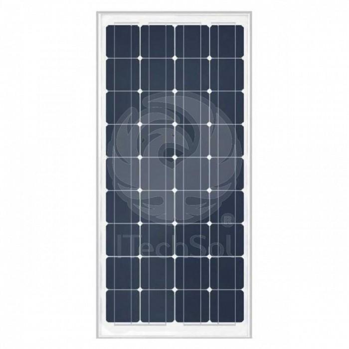 Panou solar fotovoltaic monocristalin 100W - 5 ani garantie