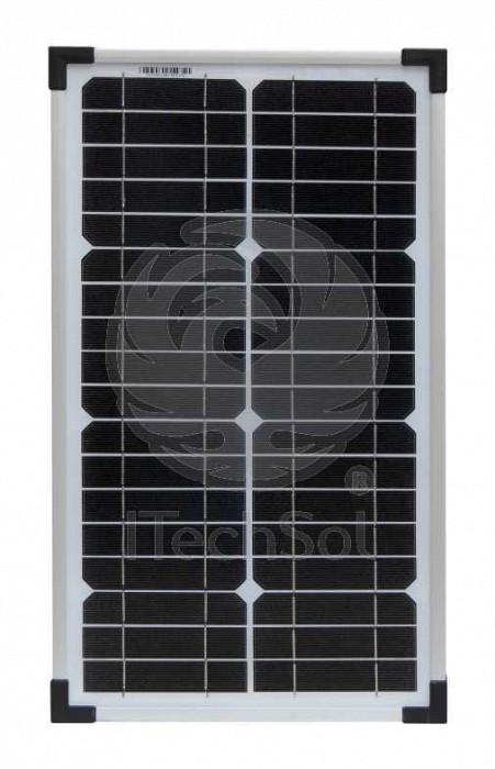 Panou solar fotovoltaic monocristalin 20W pentru alimentare