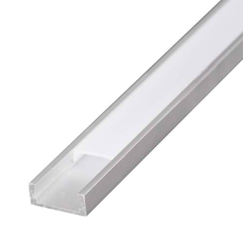 Profil de aluminiu pentru benzi flexibile cu LED, de mica ad