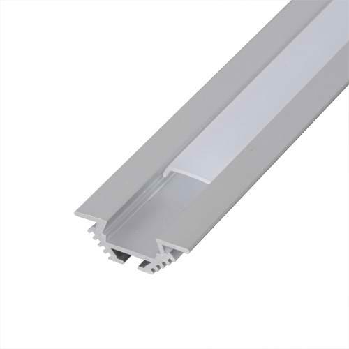Profil de aluminiu pentru benzi flexibile cu LED, 2m univers