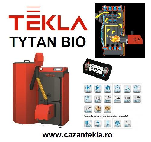 Cazane pe peleti Tekla Tytan Bio 20- 30 kW