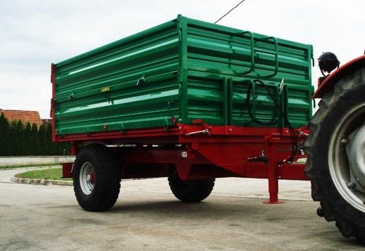 Remorca agricola 5 tone