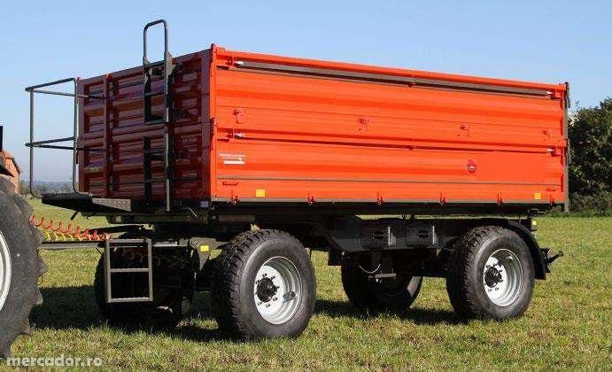Remorci agricole cu doua axe, 2-15 tone