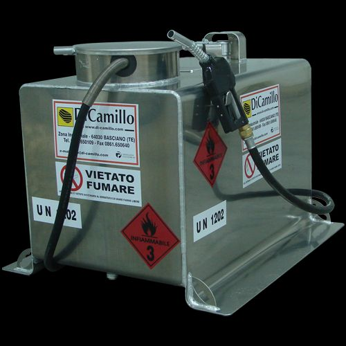 Rezervor motorina transportabil aluminiu 490 Litri