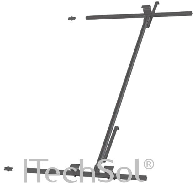 Suport montaj universal KSAL-1 (inox si aluminiu)