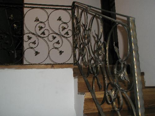 Balustrada scara din fier forjat - model Luxury clasic