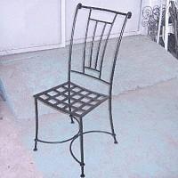 scaune din fier forjat