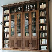 biblioteci lemn