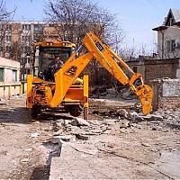 buldo excavator cu picon