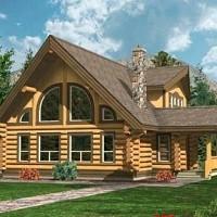 cabane lemn
