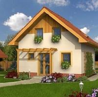 case din lemn la cheie