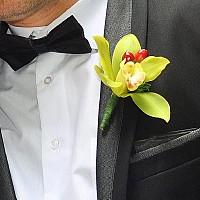 cocarda flori naturale