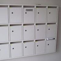 cutii postale metal