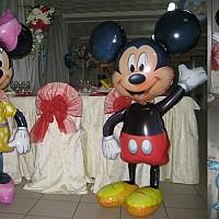 decoratiuni cu baloane botez