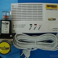 detector gaz cu electrovana