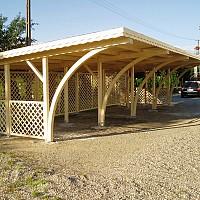 garaje lemn