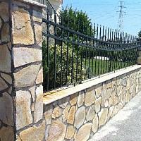 gard din piatra neregulata