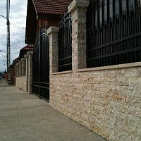 gard din piatra scapitata galbena