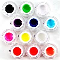 geluri colorate
