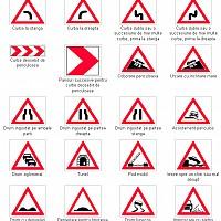 indicatoare avertizare