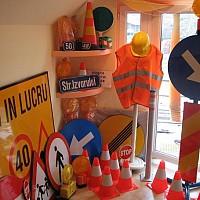 indicatoare rutiere lucrari