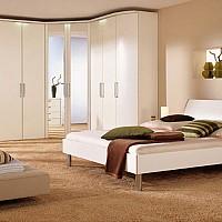 mobila dormitor alb