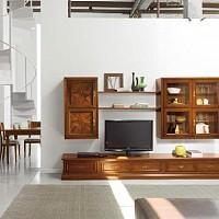 mobila living lemn