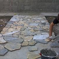 montaj piatra naturala