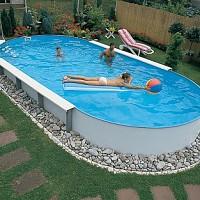 piscina metalica