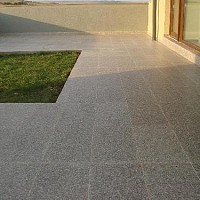 placari granit bain brown