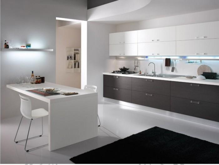 Bucatarii moderne 21 oferte de la 4 firme for Zona living moderna